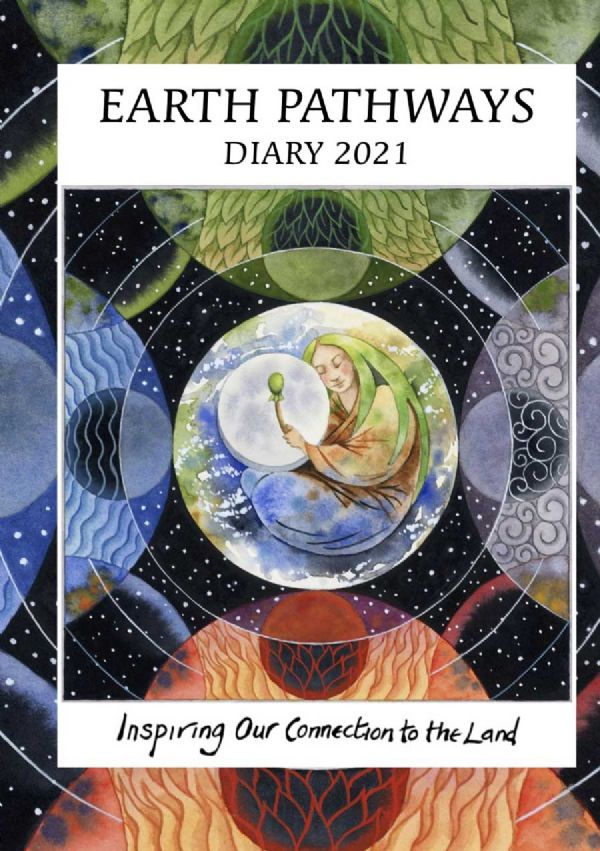 EARTH PATHWAYS Diary 2021  - A5 Spiral Bound